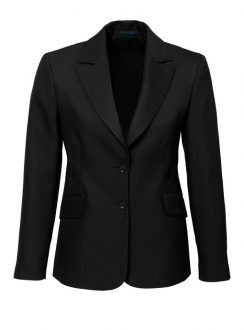 Ladies Longerline Jacket 60112 Black