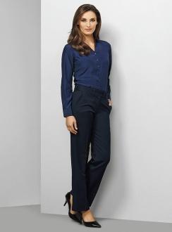 Ladies Mid Rise Adjustable Waist Pant 10115