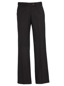 Ladies Mid Rise Adjustable Waist Pant 10115 Black