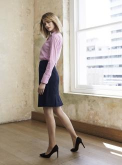 Ladies Multi Pleat Skirt 20115