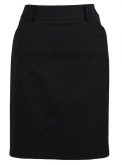 Ladies Multi Pleat Skirt 20115 Black