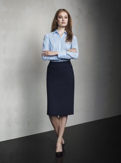 Ladies Relaxed Fit Lined Skirt 24011