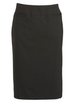 Ladies Relaxed Fit Lined Skirt 24011 Black