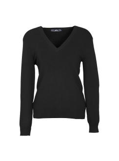 Ladies VNeck Pullover LP3506 Black