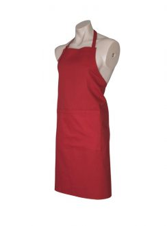Bib Apron BA95 Red