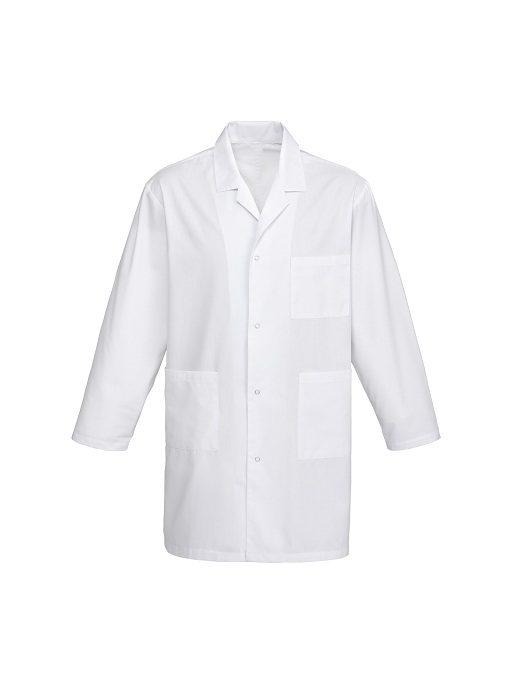 Classic Lab Coat H132ML White