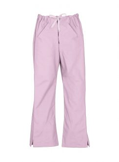 Ladies Classic Scrubs Bootleg Pant H10620 Baby Pink