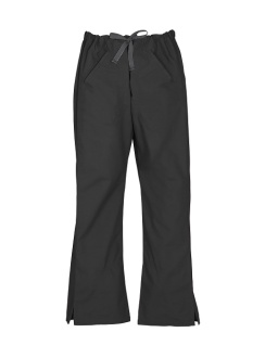 Ladies Classic Scrubs Bootleg Pant H10620 Black