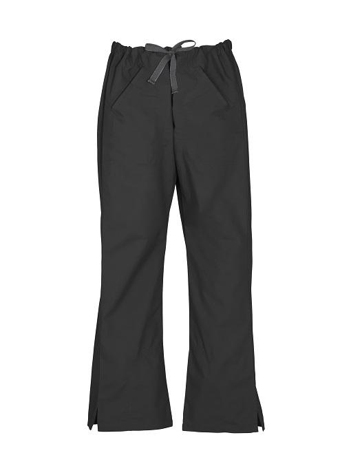 Ladies Classic Scrubs Bootleg Pant H10620 Black