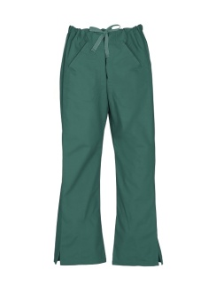 Ladies Classic Scrubs Bootleg Pant H10620 Hunter Green