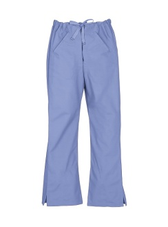 Ladies Classic Scrubs Bootleg Pant H10620 Mid Blue