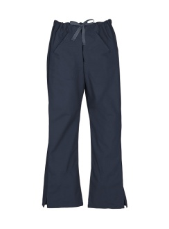 Ladies Classic Scrubs Bootleg Pant H10620 Navy