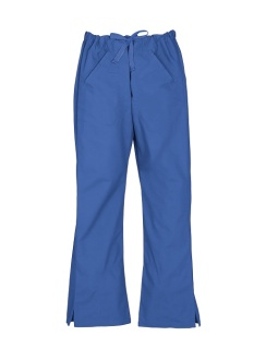 Ladies Classic Scrubs Bootleg Pant H10620 Royal