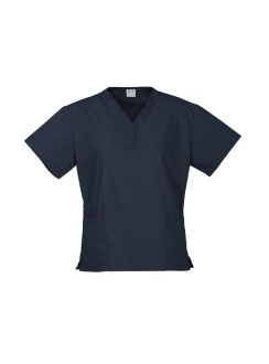 Ladies Classic Scrubs Top H10622 Navy