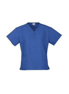 Ladies Classic Scrubs Top H10622 Royal