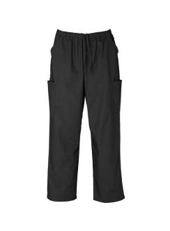 Unisex Classic Scrub Cargo Pant H10610 Black