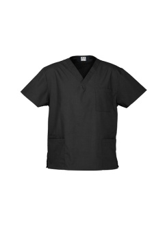 Unisex Classic Scrubs Top H10612 Black