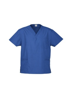Unisex Classic Scrubs Top H10612 Royal