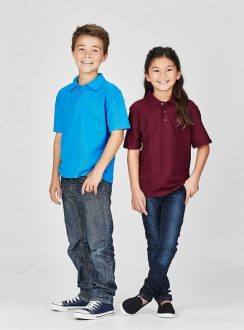 Kids Poly/Cotton Polo