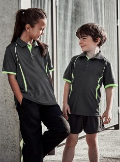 Kids 100% Polyester Polo