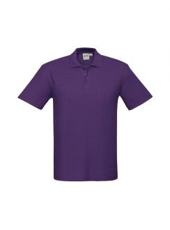 Mens Crew Polo P400MS Purple