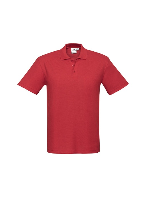 Mens Crew Polo P400MS Red