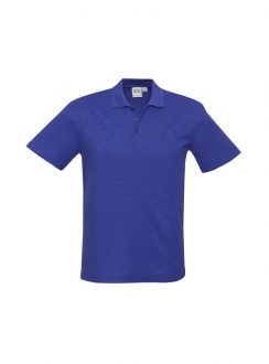 Mens Crew Polo P400MS Royal