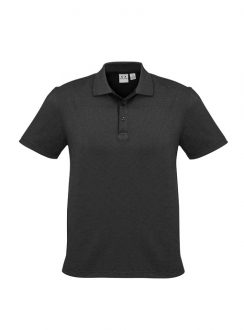 Mens Shadow Polo P501MS Graphite Black