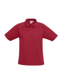 Mens Sprint Polo P300MS Red