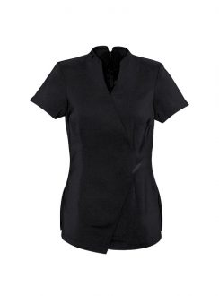 Ladies Spa Tunic H630L Black