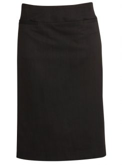 Ladies Relaxed Fit Lined Skirt 20111 Black