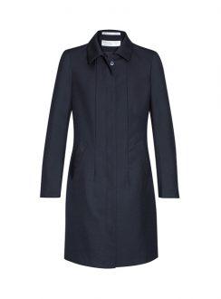 Ladies Lined Overcoat 63830 Midnight Blue