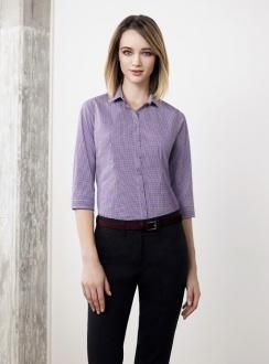 Ladies Newport 34 Sleeve Blouse 42511
