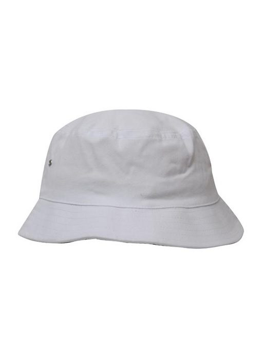 Double Pique Mesh Bucket Hat by Headwear - Online Uniforms 366c983702a8
