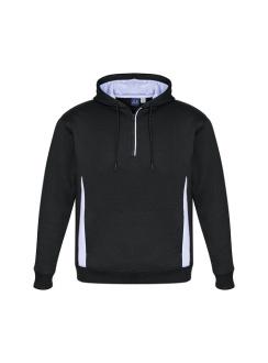 Adults Renegade Hooded Sweatshirt SW710M Black White