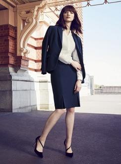 Siena Front Detail Straight Skirt 20720