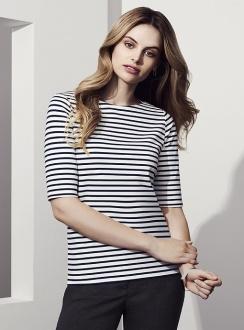 Ladies Camille Short Sleeve Top 44113