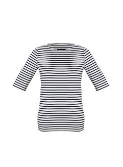 Ladies Camille Short Sleeve Top 44113 Dk Navy