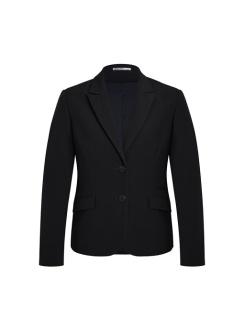 Ladies Siena Two Button Jacket 60719 Black